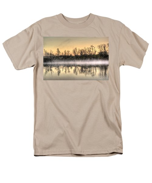 Men's T-Shirt  (Regular Fit) featuring the photograph Early Morning Mist by Lynn Geoffroy
