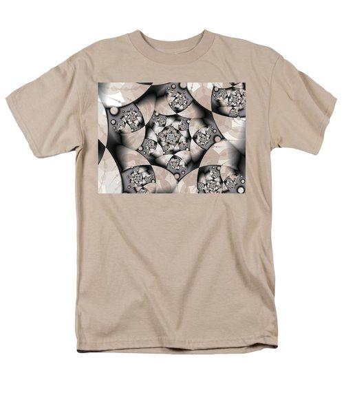 Men's T-Shirt  (Regular Fit) featuring the digital art Earth Tones by Gabiw Art