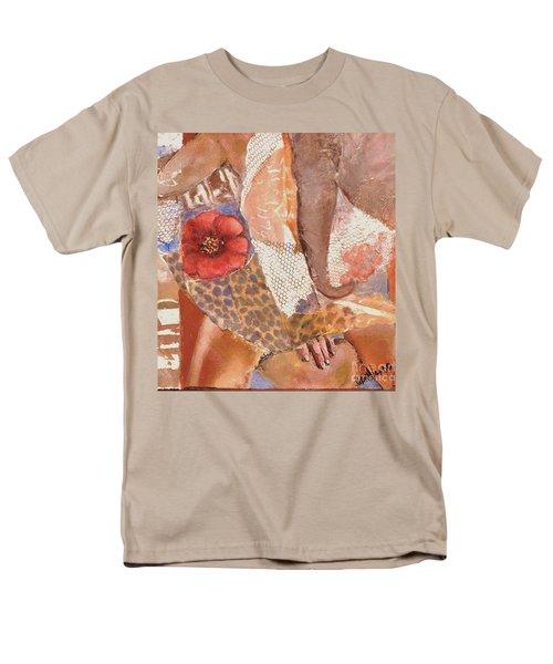 Elephant Walk Men's T-Shirt  (Regular Fit) by Glory Wood