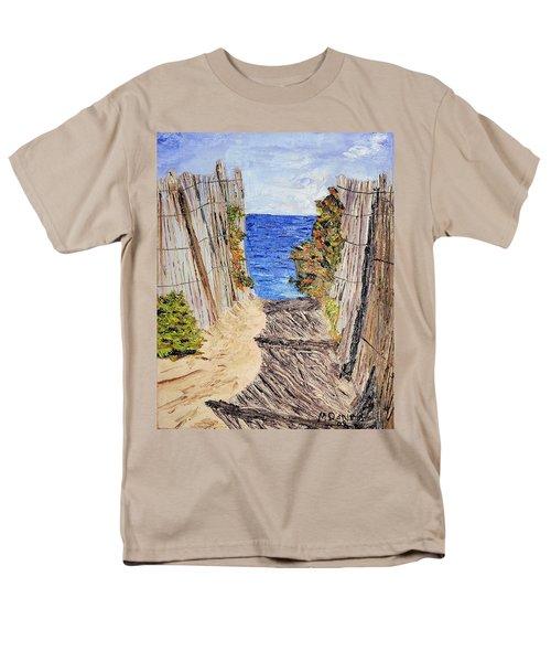 Entrance To Summer Men's T-Shirt  (Regular Fit) by Michael Daniels