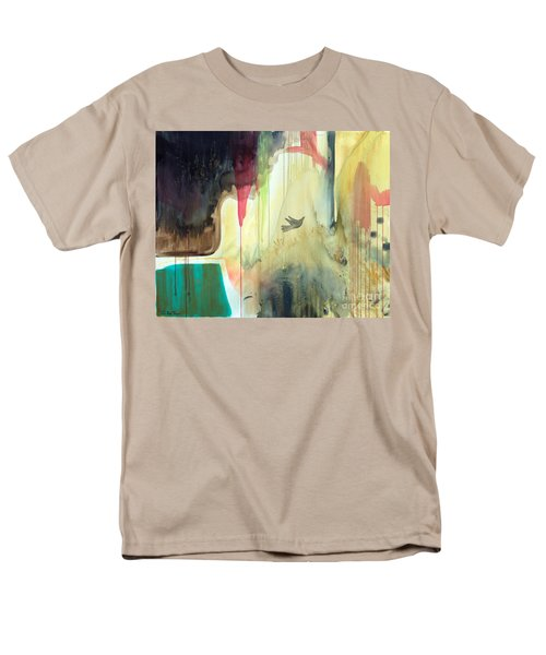 Men's T-Shirt  (Regular Fit) featuring the painting Envisage by Robin Maria Pedrero