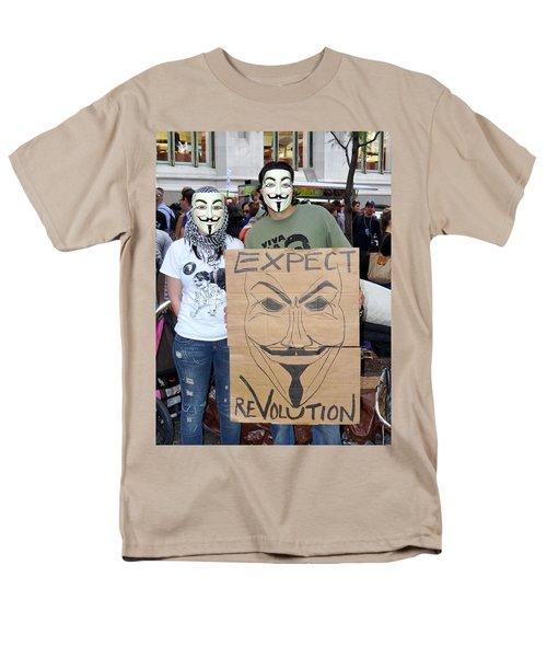 Men's T-Shirt  (Regular Fit) featuring the photograph Expect Revolution by Ed Weidman