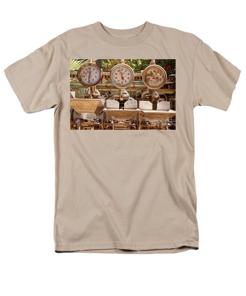 Men's T-Shirt  (Regular Fit) featuring the photograph Farm Scales by Kerri Mortenson