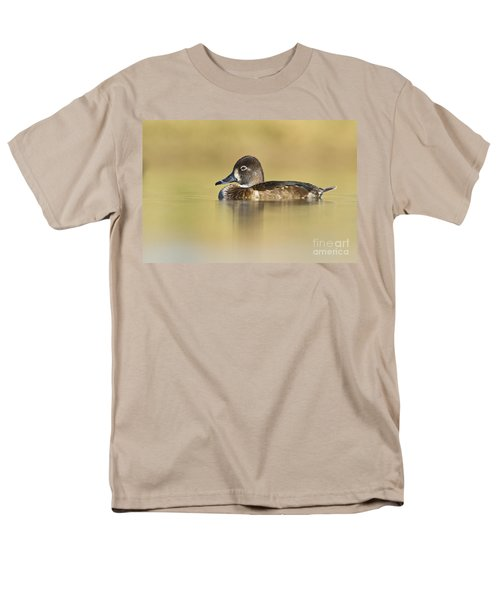 Men's T-Shirt  (Regular Fit) featuring the photograph Female Ring Necked Duck by Bryan Keil