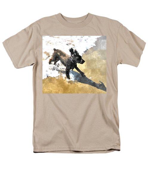 Field Spaniel Joy Men's T-Shirt  (Regular Fit) by Susan Molnar