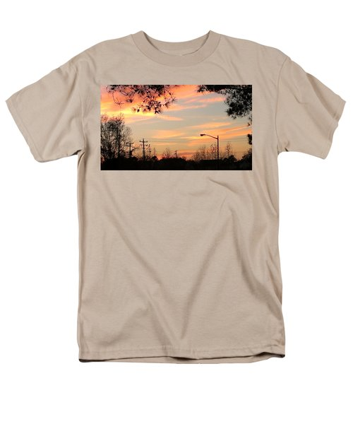 Fire Sky Men's T-Shirt  (Regular Fit) by Thomasina Durkay