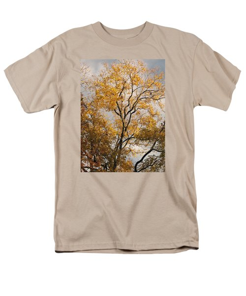 First Day Of Winter 2 Men's T-Shirt  (Regular Fit) by Connie Fox