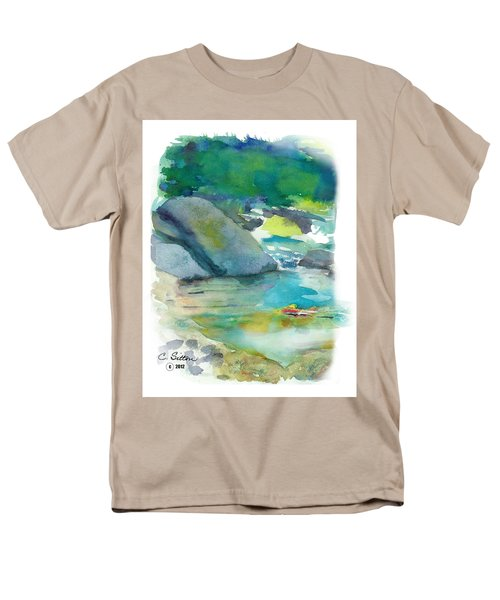 Fishin' Hole Men's T-Shirt  (Regular Fit) by C Sitton