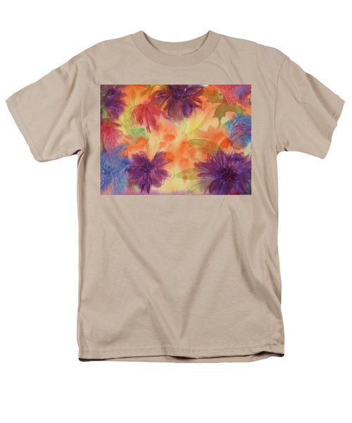 Floral Fantasy Men's T-Shirt  (Regular Fit) by Ellen Levinson