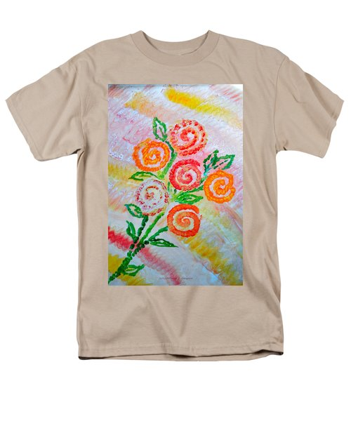 Floralen Traum Men's T-Shirt  (Regular Fit) by Sonali Gangane