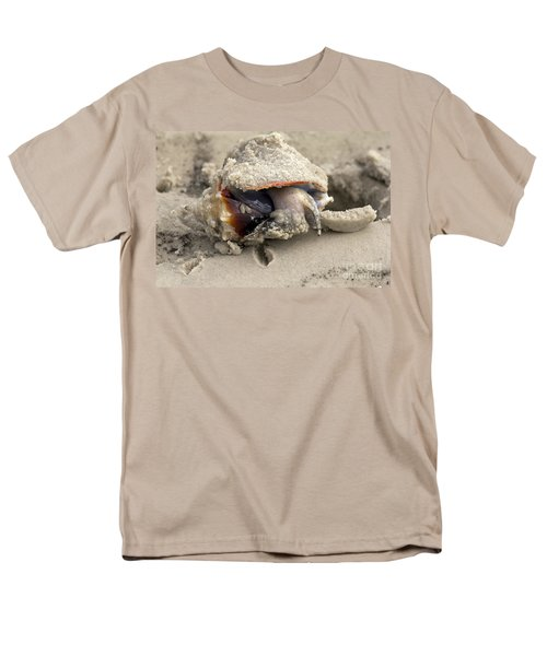 Men's T-Shirt  (Regular Fit) featuring the photograph Florida Fighting Conch by Meg Rousher