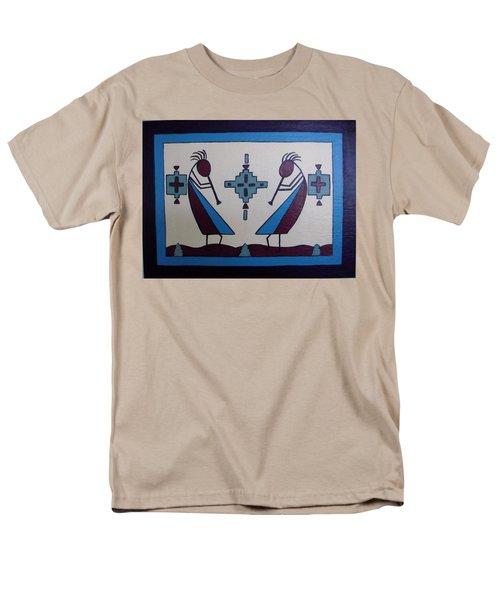 Flute Players Men's T-Shirt  (Regular Fit)