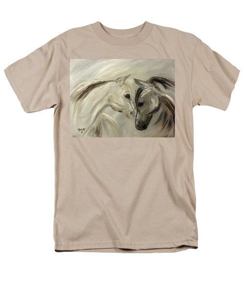 Men's T-Shirt  (Regular Fit) featuring the painting Forever Friends by Barbie Batson
