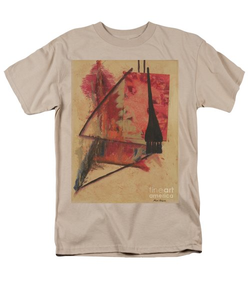 Men's T-Shirt  (Regular Fit) featuring the painting Forgive My Tears by Mini Arora