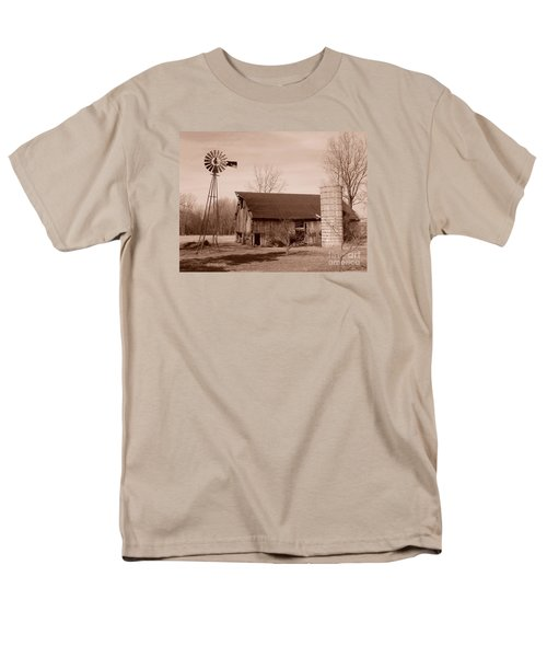 Forgotten Farm Men's T-Shirt  (Regular Fit) by Judy Whitton