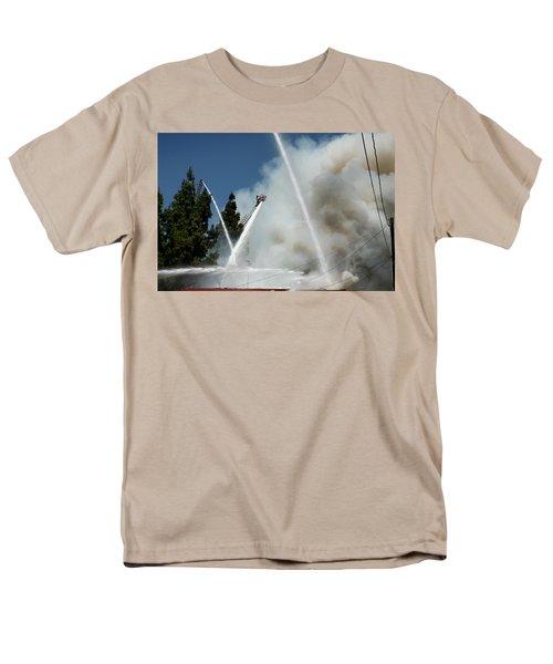 Four Alarm Blaze 003 Men's T-Shirt  (Regular Fit) by Lon Casler Bixby