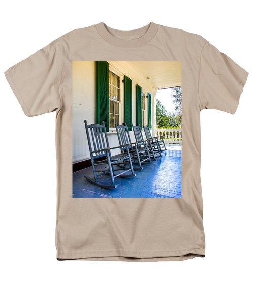 Four Porch Rockers Men's T-Shirt  (Regular Fit) by Perry Webster