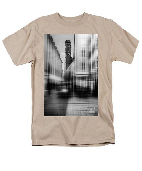 Frauenkirche - Muenchen V - Bw Men's T-Shirt  (Regular Fit) by Hannes Cmarits