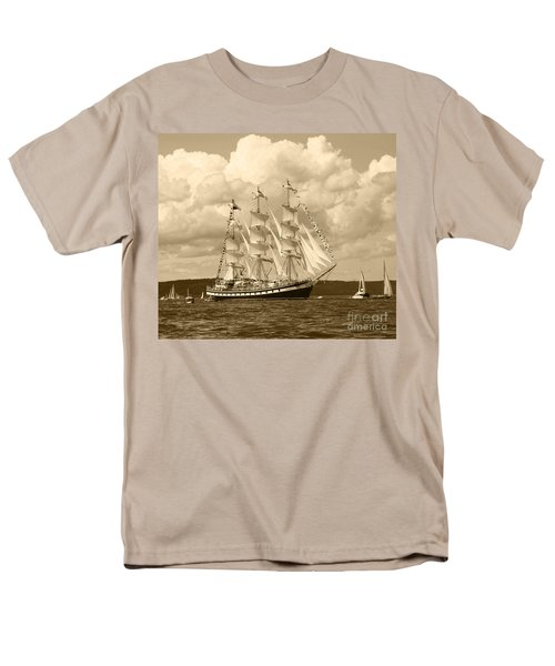 From Russia With Love Men's T-Shirt  (Regular Fit) by Kym Backland