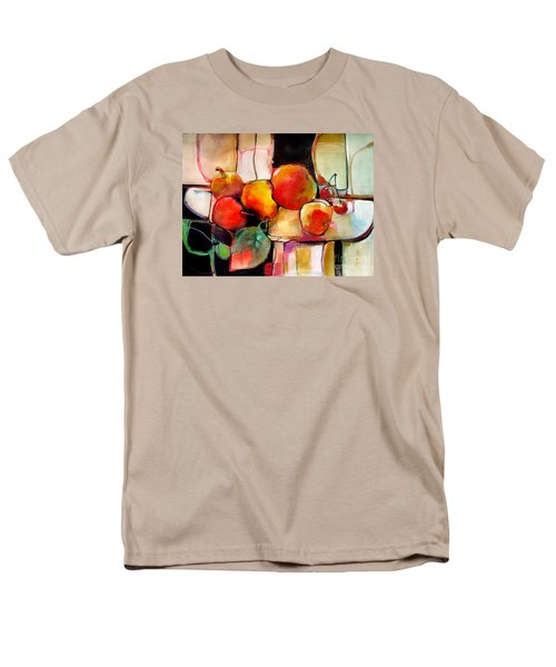 Fruit On A Dish Men's T-Shirt  (Regular Fit) by Michelle Abrams