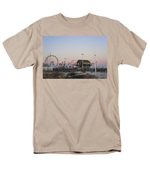 Fun At The Shore Seaside Park New Jersey Men's T-Shirt  (Regular Fit) by Terry DeLuco