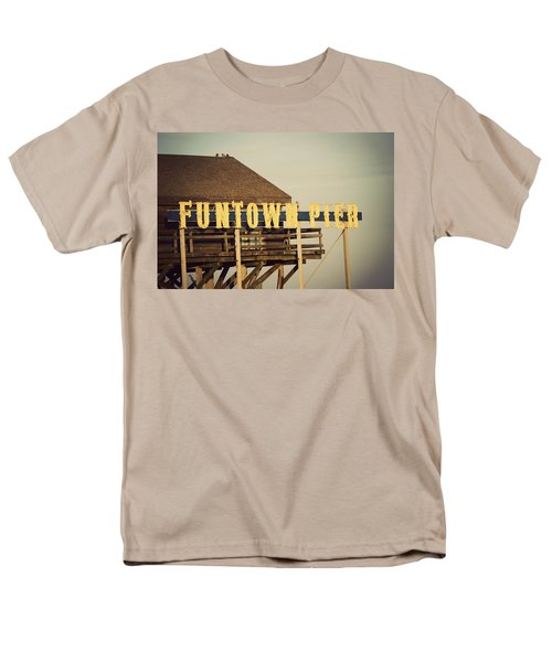Funtown Vintage Men's T-Shirt  (Regular Fit) by Terry DeLuco