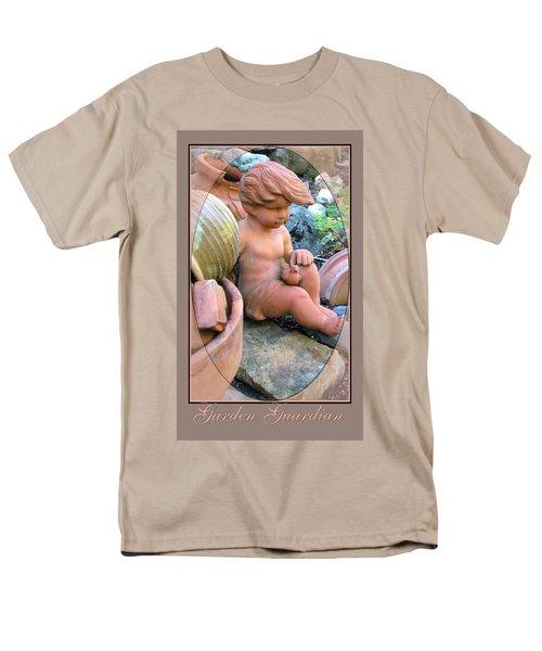 Men's T-Shirt  (Regular Fit) featuring the photograph My Garden Guardian  by Brooks Garten Hauschild