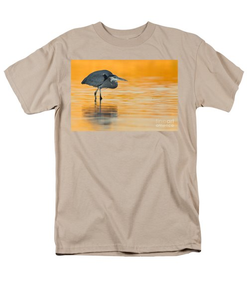 Men's T-Shirt  (Regular Fit) featuring the photograph Gbh In Orange Water by Bryan Keil
