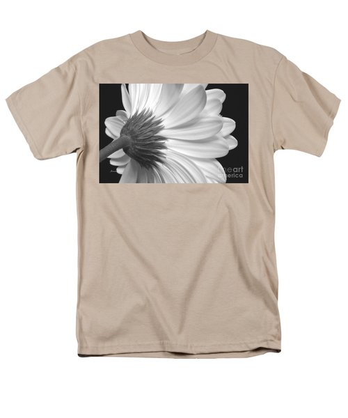 Gerbera Daisy Monochrome Men's T-Shirt  (Regular Fit) by Jeannie Rhode