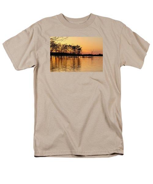 Gilded Sunset Men's T-Shirt  (Regular Fit) by Julie Andel