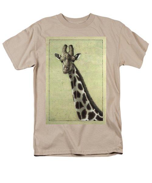 Giraffe Men's T-Shirt  (Regular Fit) by James W Johnson
