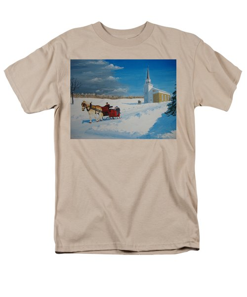 Going Home From Church Men's T-Shirt  (Regular Fit) by Norm Starks