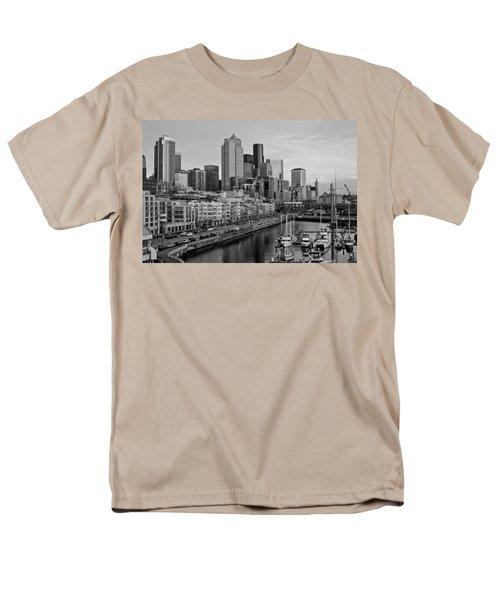 Gracefully Urban Men's T-Shirt  (Regular Fit) by Mike Reid