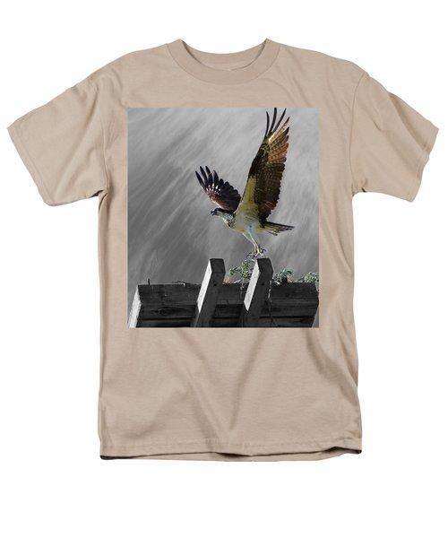 Grand Ole Osprey Men's T-Shirt  (Regular Fit) by Davandra Cribbie