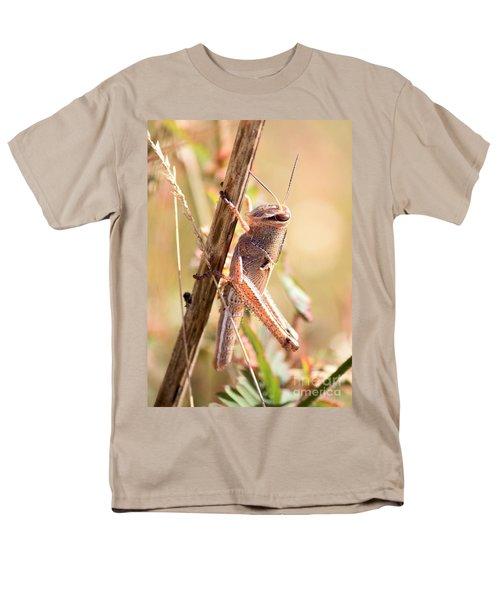 Grasshopper In The Marsh Men's T-Shirt  (Regular Fit) by Carol Groenen