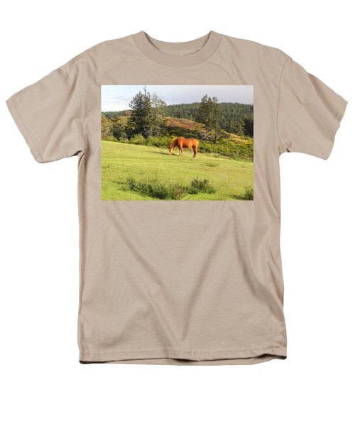 Men's T-Shirt  (Regular Fit) featuring the photograph Grazing by Cheryl Hoyle