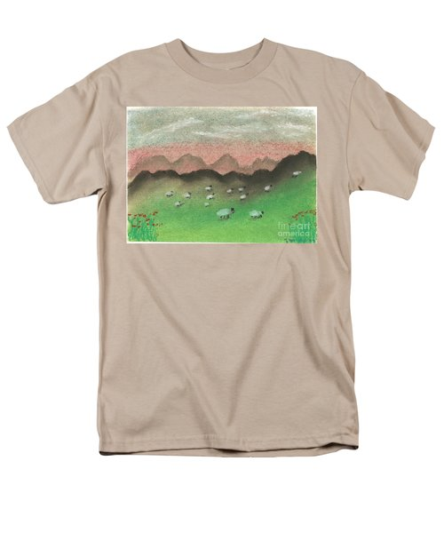 Grazing In The Hills Men's T-Shirt  (Regular Fit) by Tracey Williams