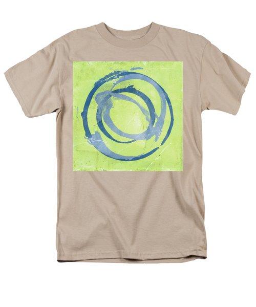 Men's T-Shirt  (Regular Fit) featuring the painting Green Blue by Julie Niemela