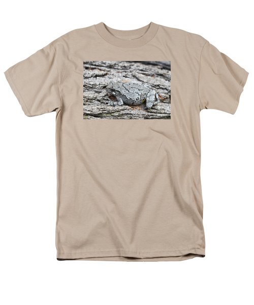 Men's T-Shirt  (Regular Fit) featuring the photograph Cope's Gray Tree Frog by Judy Whitton