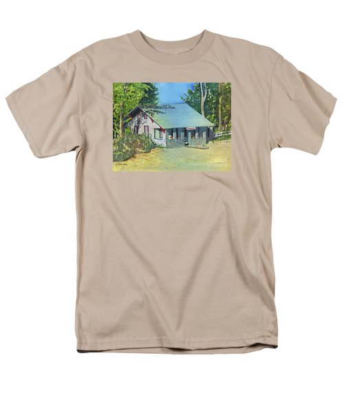 Men's T-Shirt  (Regular Fit) featuring the painting Graynook by LeAnne Sowa