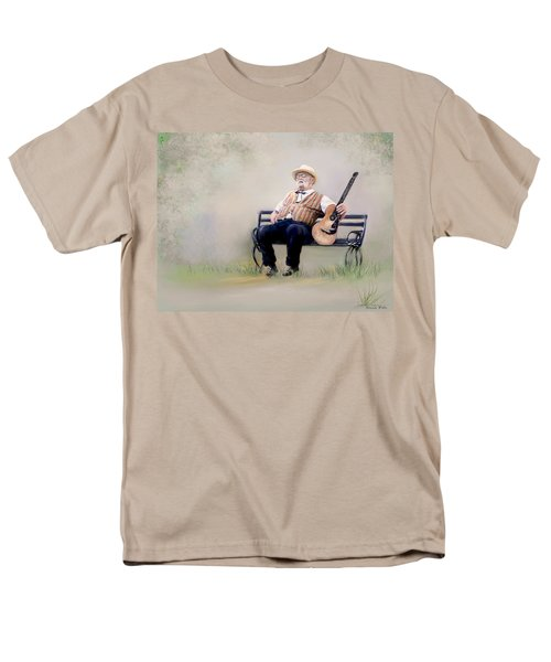 Guitar Man Men's T-Shirt  (Regular Fit) by Bonnie Willis