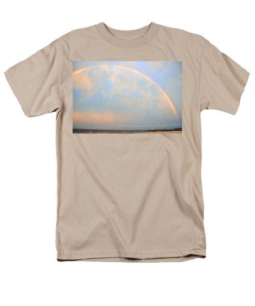 Men's T-Shirt  (Regular Fit) featuring the photograph Gulf Coast Rainbow by Charlotte Schafer