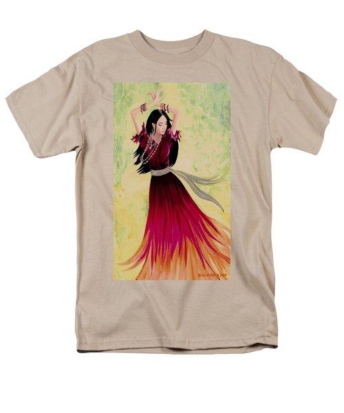 Gypsy Dancer Men's T-Shirt  (Regular Fit) by Sophia Schmierer