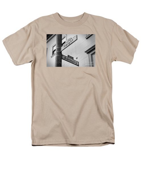 Haight And Ashbury Men's T-Shirt  (Regular Fit) by Jerry Fornarotto