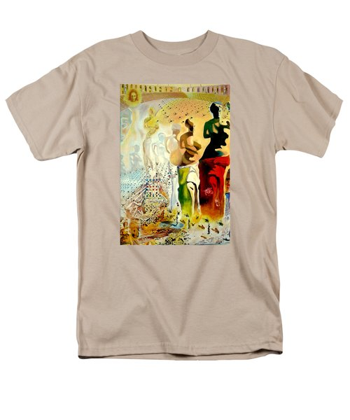 Men's T-Shirt  (Regular Fit) featuring the painting Halucinogenic Toreador By Salvador Dali by Henryk Gorecki