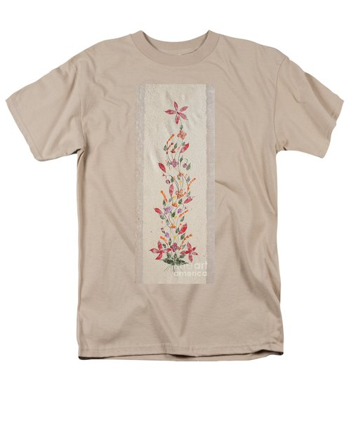 Men's T-Shirt  (Regular Fit) featuring the photograph handmade paper from Madagascar 2 by Rudi Prott