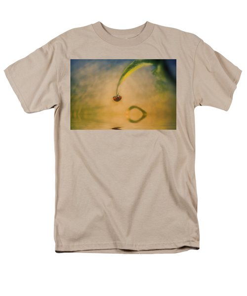 Hang In There Men's T-Shirt  (Regular Fit) by Diane Dugas
