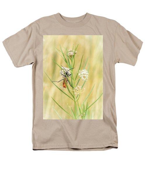 Hanging On Men's T-Shirt  (Regular Fit) by Debra Martz