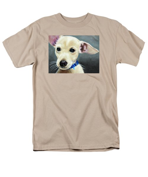 Men's T-Shirt  (Regular Fit) featuring the painting Hank by Jeanne Fischer