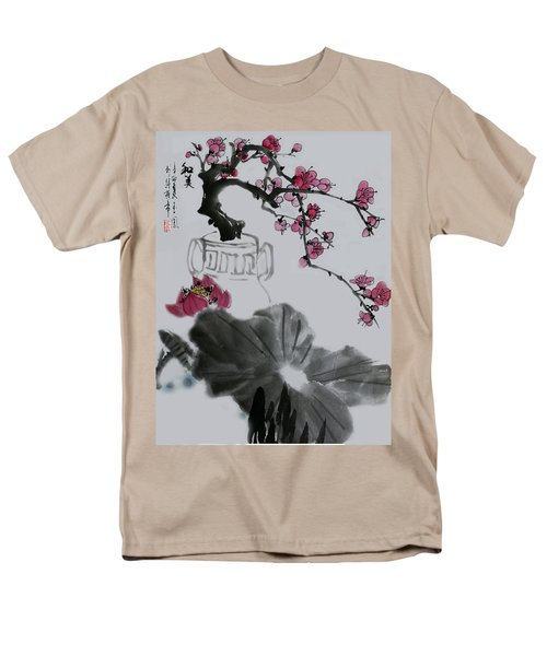 Men's T-Shirt  (Regular Fit) featuring the photograph Harmony And Beauty by Yufeng Wang